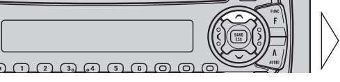 Other Functions 3. Memorize the function in PROGRAM button. Pressing the BAND button cancels the Detailed
