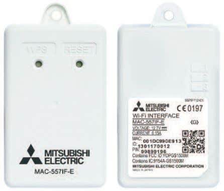 (Interfaccia Wi-Fi di Mitsubishi Electric (MAC-557IF-E))   Informazioni generali sull'Interfaccia Wi-Fi