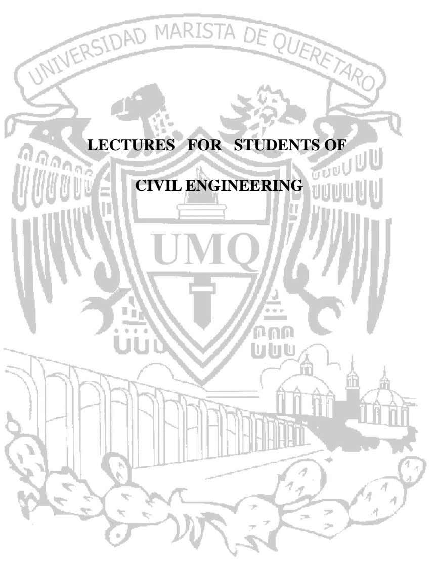 LECTURES FOR STUDENTS OF CIVIL ENGINEERING
