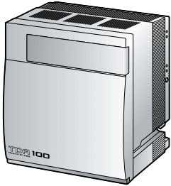 a power supply unit can be installed in the basic shelf. 24 KX-TDA100 KX-TDA200 Construction of