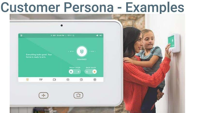 Customer Persona - Examples