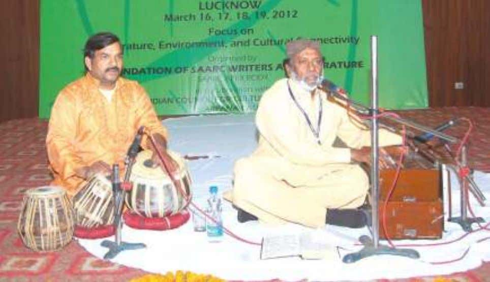 Pakistan, on the 16th evening : in the Cultural Programme. In the Cultural Programme on the