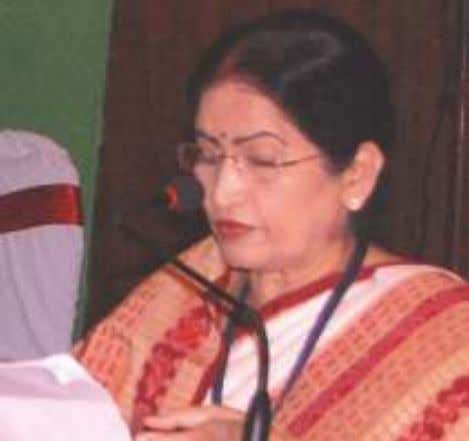 song is fading gradually, which disturbs the eco-feminists. Dr. Pratibha Ray From the same song she