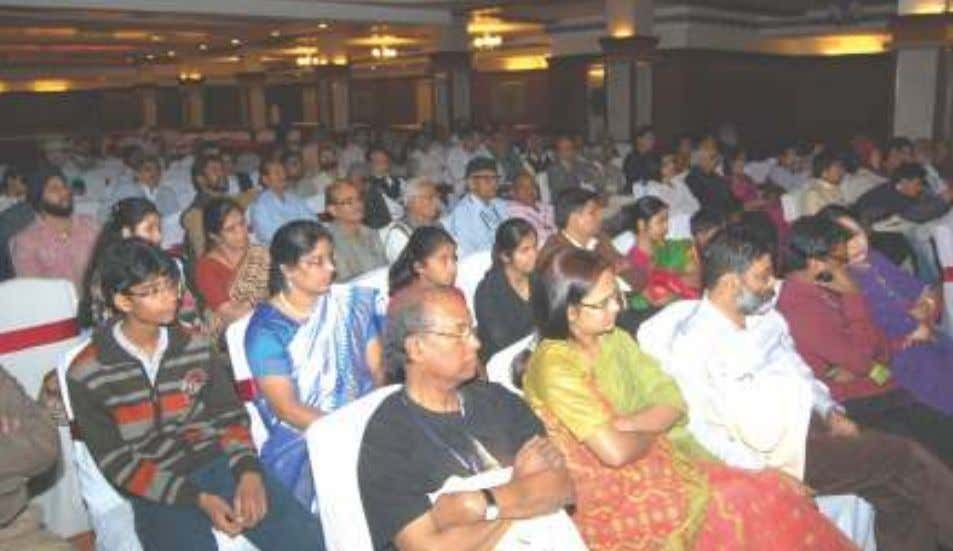 Avadh, where the delegates stayed and the Festival was held. The overflowing mesmerized audience. Dr. Karol,