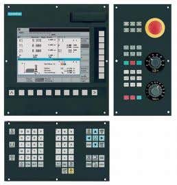 dynamic drives and motors ● Customized full solution SINUMERIK 802D sl pro - Milling Control system