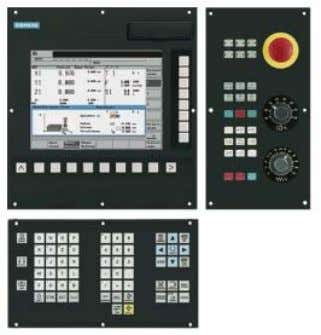MCP 802D sl with fe ed and spindle override. Highlights 10 ● All relevant functions at