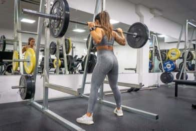 EXERCISE LIBRARY: WEEK 1 DAY 5 Sumo Wide Stance Squats Barbell Hip Thrust Barbell Single leg