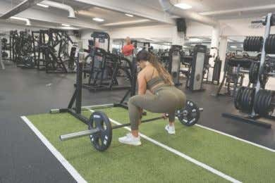 EXERCISE LIBRARY: WEEK 2 DAY 5 Cable Kick Backs Sumo Deadlifts DB Bulgarian Split Squat Smith