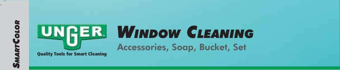 WINDOW CLEANING Accessories, Soap, Bucket, Set Quality Tools for Smart Cleaning