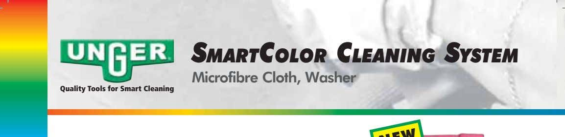 SMARTCOLOR CLEANING SYSTEM Microfibre Cloth, Washer Quality Tools for Smart Cleaning