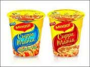 of Maggi, which have helped in building brand equity. EG:- Maggi Cuppa Mania Just add garam