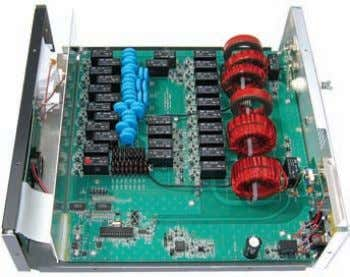 or 110 VAC with MFJ-1316, $21.95. Back view of MFJ-998 An Inside view of MFJ-998 Pre-wired