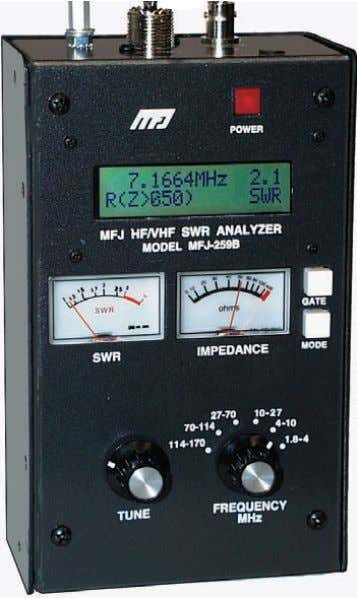 warning smooth reduction drive tuning much more The world's most popular SWR analyzer just got incredibly