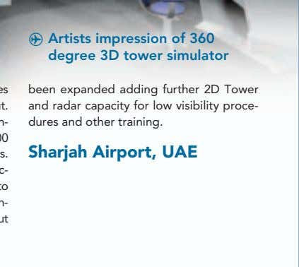 ^ Artists impression of 360 degree 3D tower simulator been expanded adding further 2D Tower