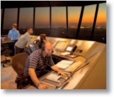 as interesting and rewarding as the Johannesburg meeting. ^ 4 Inside Johannesburg Control Tower A transition