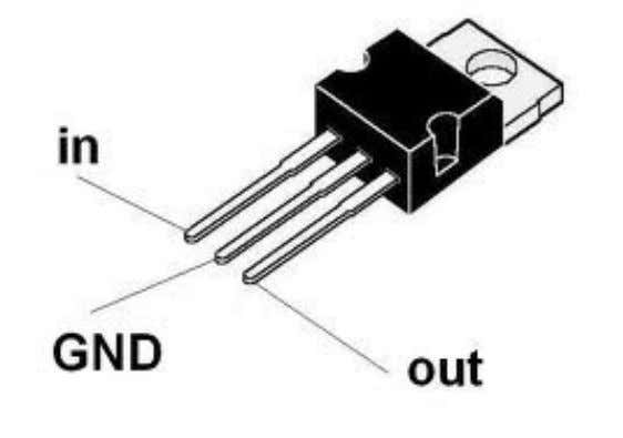 3.4.5 – 7812 VOLTAGE RECULATOR :- 7805 is a voltage regulator integrated circuit. It is a