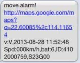 "the movement alert, tracker will reply ""nomove ok"". 5 . 1 2 Overspeed alert: 5.12.1 Set"