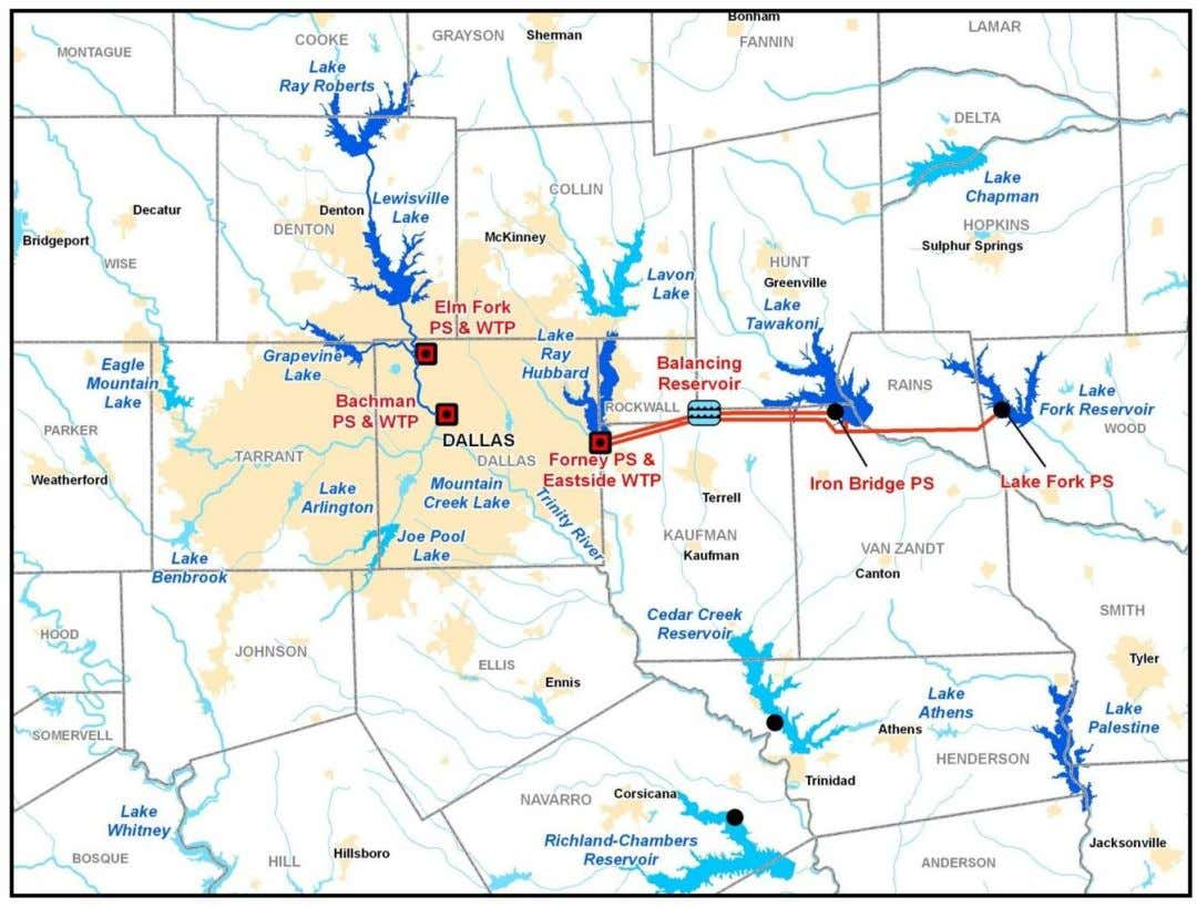 Dallas' Regional System Current Water Supply 16