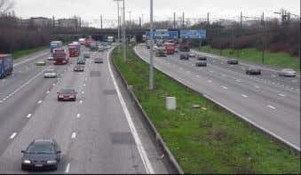 Figure 22. Overview of Ring Road R1 in Antwerp, Belgium . Figure 23. Damages on the