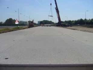 applied on the bypass within the junction 'Oudenrijn'. Figure 43. Construction of the Modieslab test section