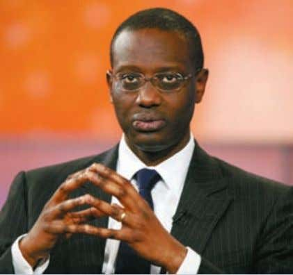"for and I ask for your continued support,"" he said. Prudential chief Tidjane Thiam is repairing"