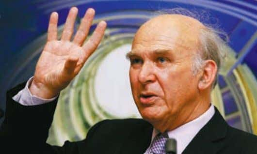 ▲ ▲ ▲ CITY A.M. 9 AUGUST 2010 News 9 Business secretary Vince Cable said he