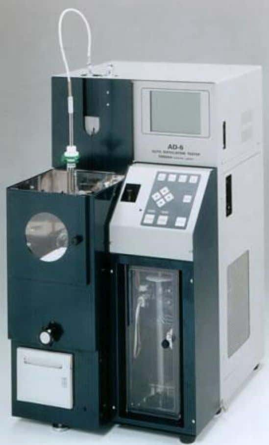 the record and prevailing barometric pressure, and proceed at once with the distillation. AUTOMATIC DISTILLATION MACHINE
