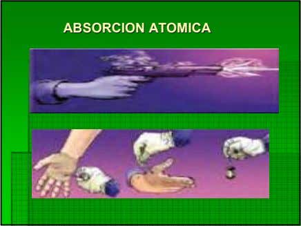ABSORCIONABSORCION ATOMICAATOMICA