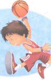 6 fu_bc] Vocabular8 Favorjte sports He plays basketball. He plays soccer. She plays volleyba ll. He