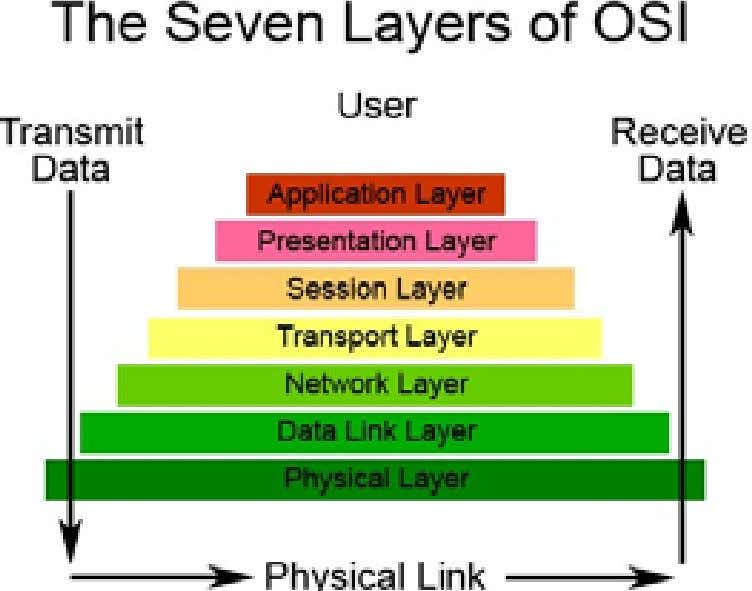Lesson 1 The OSI model consists of seven levels: Levels are numbered bottom-up, from the first