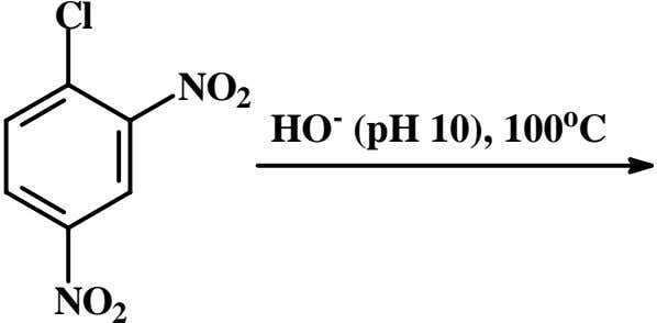 Cl NO 2 HO - (pH 10), 100 o C NO 2