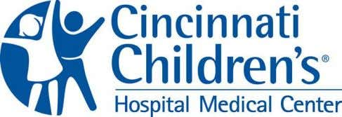 "of the application to ensure a successful budget process."" - Vice President Cincinnati Childrens Hospital Medical"