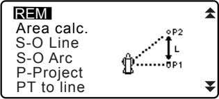 REM Area calc. S-O Line S-O Arc P-Project PT to line