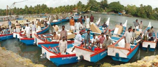 September 2008. embracing the world | D ISASTER RE l IE f Tsunami-affected fishermen ready to