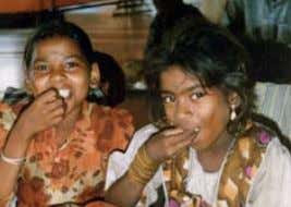 Street children receive regular meals in Mumbai Palakkad ashram, Kerala, hot meal service Staple foods
