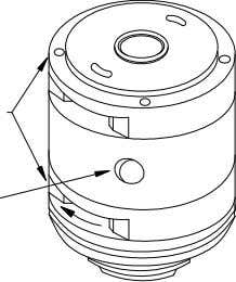 Fig. A-1 Suction Ports Cam Ring Hole