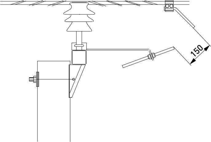 conductor need not be stripped. The normal suspension clamp (SO181) is not rec - ommended for