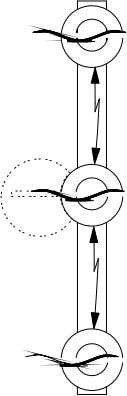 (4), at which point the circuit breakers are tripped. The distance between the horns must be