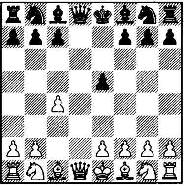 l.d4 d6 2.c4 e5 3.dxe5 dxe5 Step by Step 4.Y«xd8+ In several games White avoid­