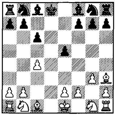 l.d4 d6 2.c4 e5 3.dxe5 dxe5 4. Wffxd8+ �xd8 5.g3 c6 White into playing a2-a3 and