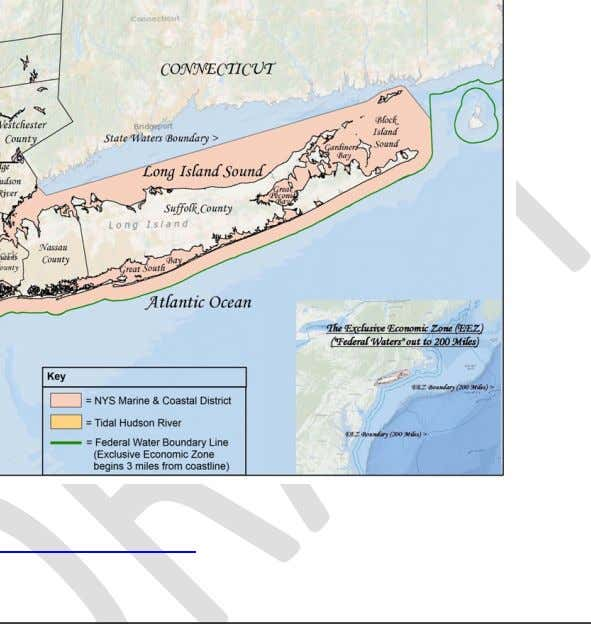 to encourage the use of green or natural infrastructure. Figure 1. New York Marine and Coastal
