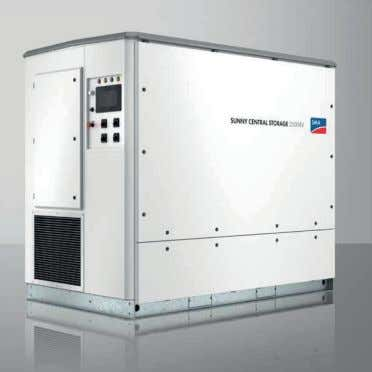 grid system services • Parallel combined grid mode SMA SUNNY CENTRAL STORAGE SCS 2200/2500-EV In addition