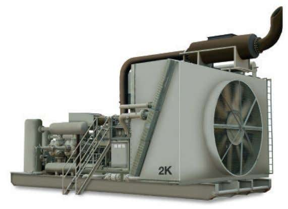 or boiler. Natural gas and biogas are frequently compressed. Diesel Powered Gas Compression Skid for Field