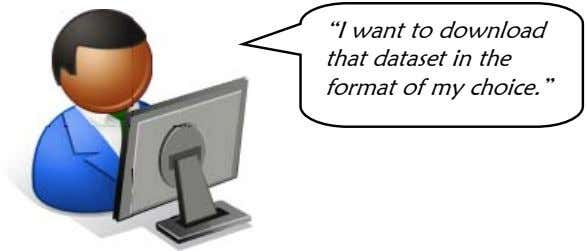 """I want to download that dataset in the format of my choice."""