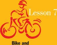 Lesson 7 Bike and