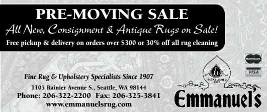 pre-moving sale All New, Consignment & Antique Rugs on Sale! Free pickup & delivery on