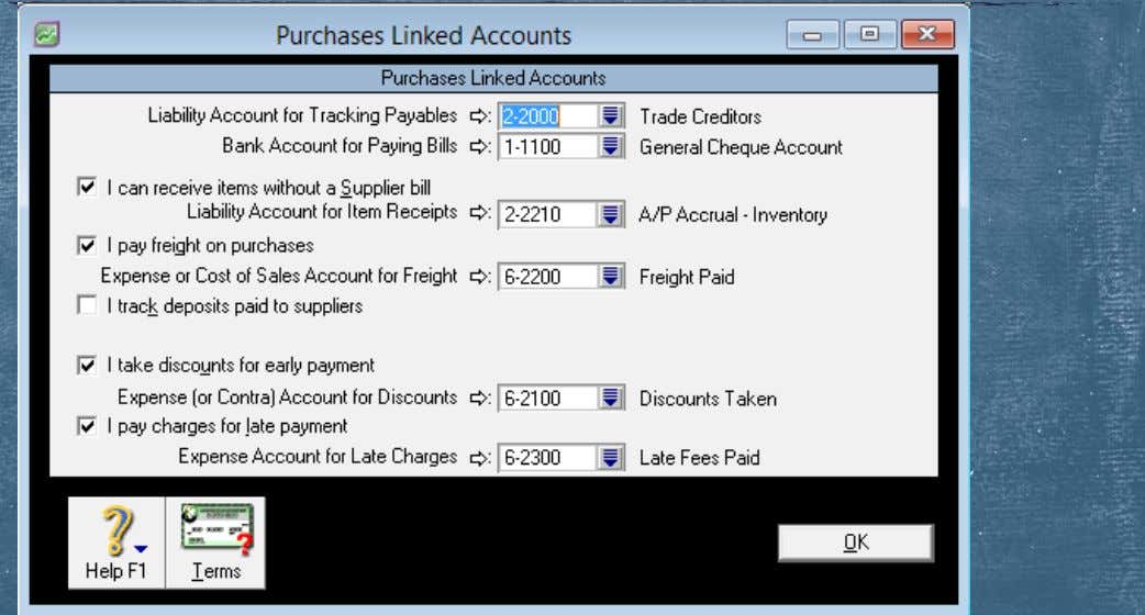 Linked Account—Purchases Linked Accounts