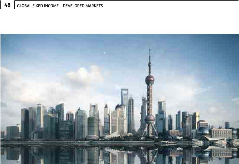 48 GLOBAL FIXED INCOME – DEVELOPED MARKETS