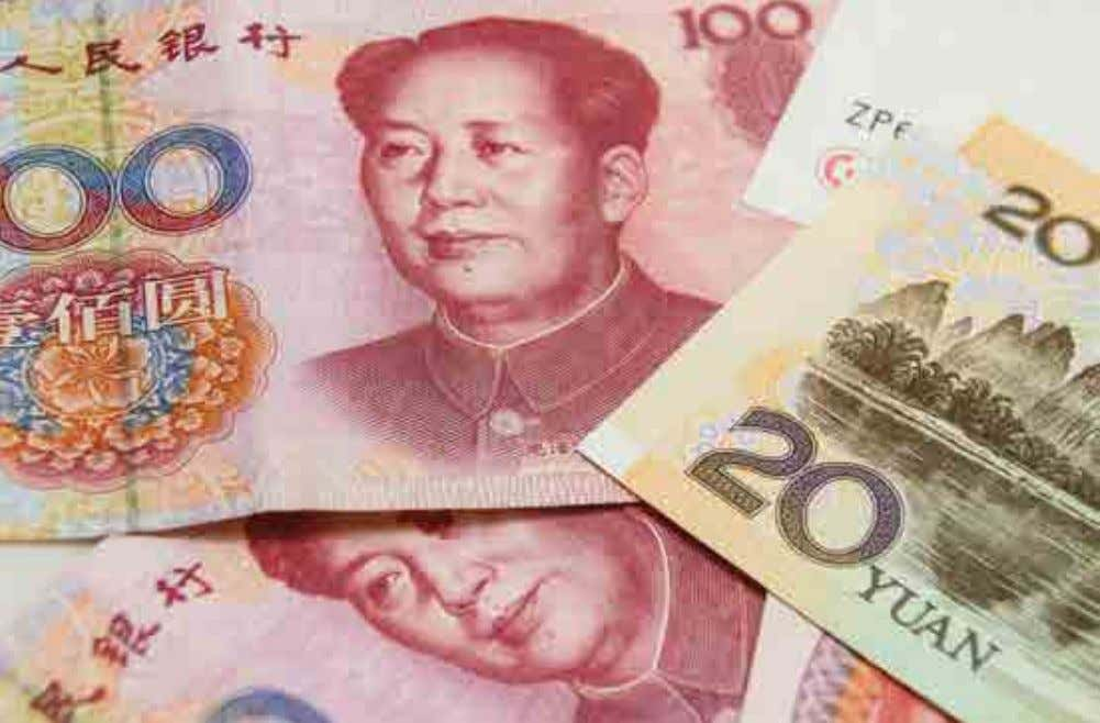 ASIA FX 73 Chinese renminbi In the past year, China saw maintained strong growth in its