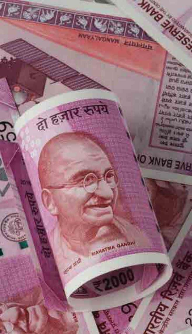 74 ASIA FX Indian rupee Moody's just raised India's credit rating from Baa2 to Baa3, while